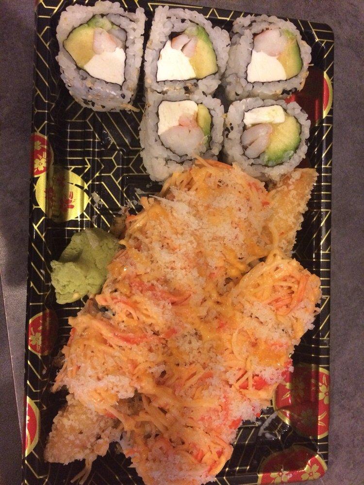 Food from Hibachi Express Lakeland
