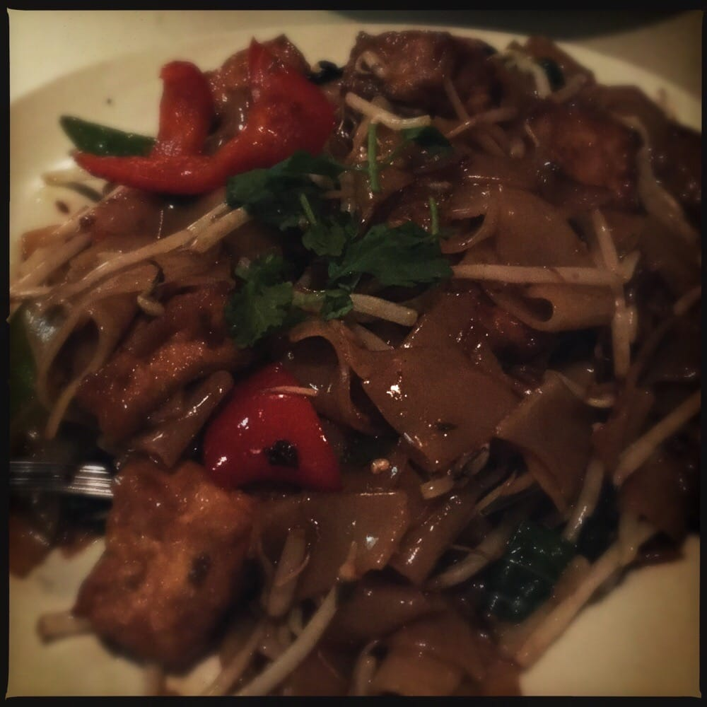 Drunken noodles yelp for Amarin thai cuisine