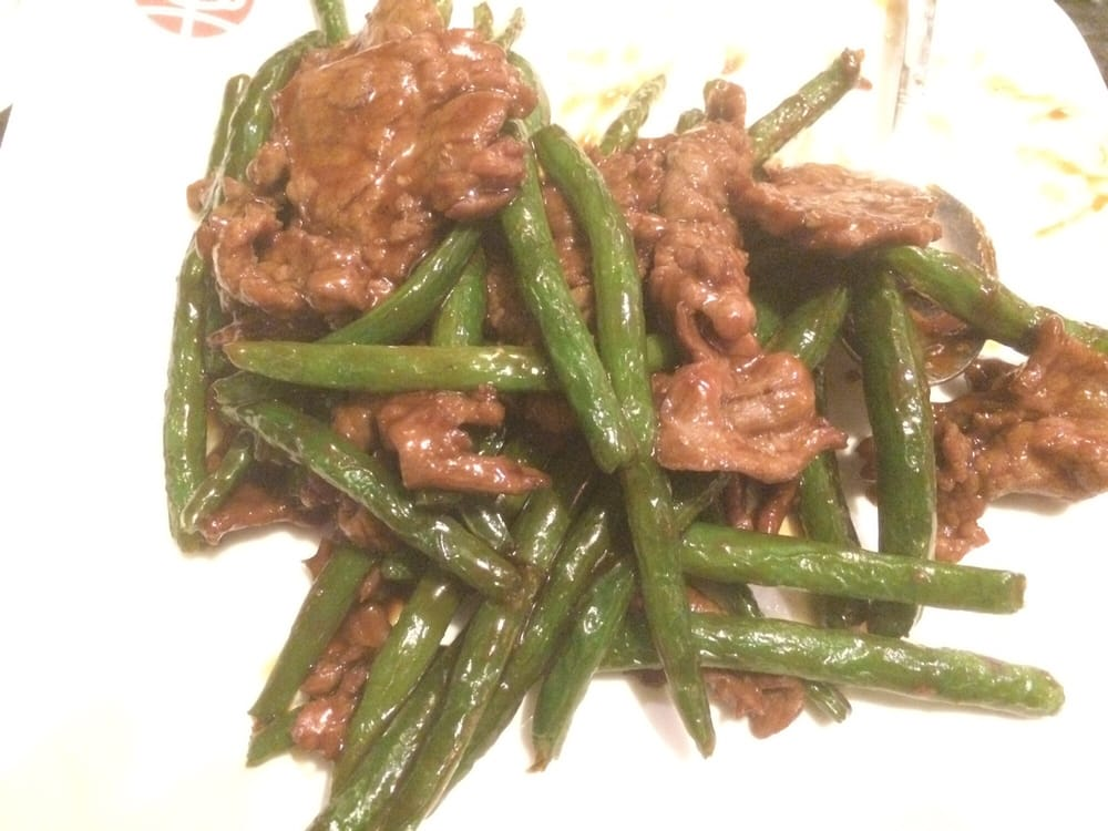Beef With Chinese String Beans For The Munchkins Yelp