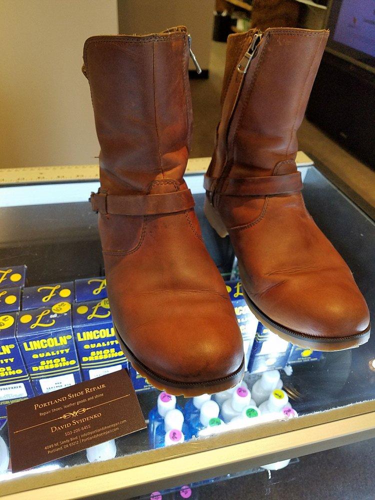 Photo Of Portland Shoe Repair Or United States Great Job Restoring