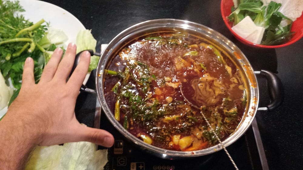 The Boiling Point Restaurant Menu