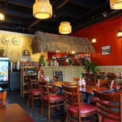 photo of mr red cafe vancouver bc canada interior
