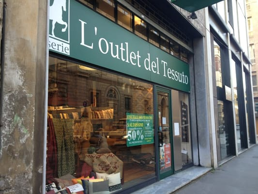 L\'Outlet del Tessuto - Home Decor - Corso di Porta Romana 6 ...