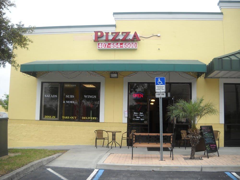 Pizza Station Closed 18 Reviews Pizza 1218 Winter Garden Vineland Rd Winter Garden