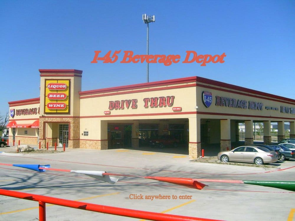 I-45 Beverage Depot: 410 N Interstate I 45, Hutchins, TX