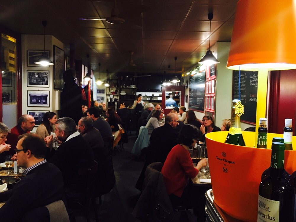 Lovely atmosphere yelp - La cantine du troquet paris ...