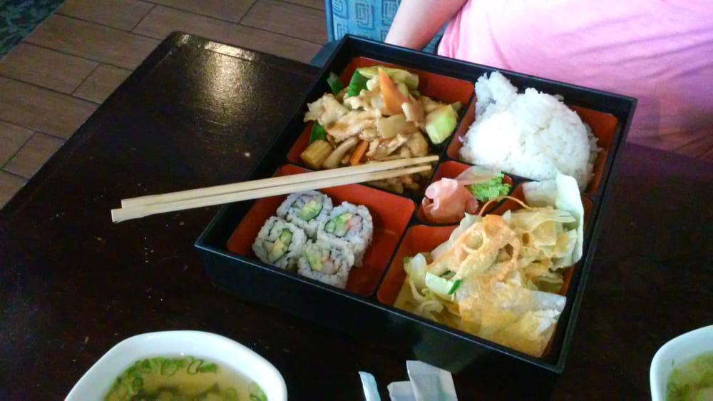 The box plate yelp for Akane japanese fusion cuisine