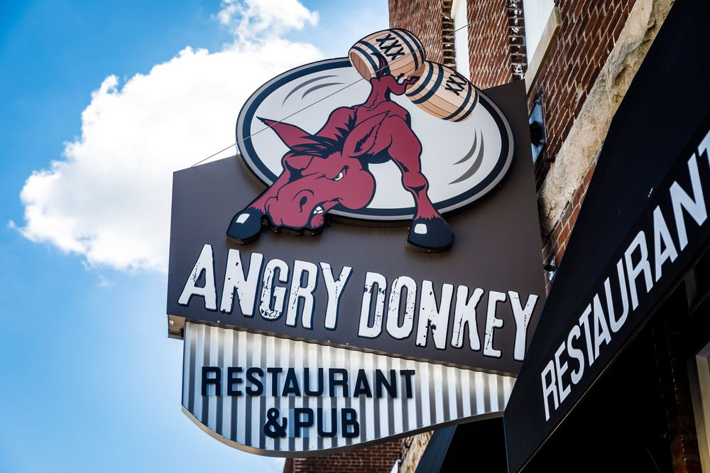 Angry Donkey: 230 Main St, Michigantown, IN