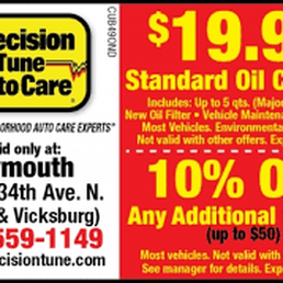 picture regarding Precision Tune Auto Care Coupons Printable referred to as Pics for Accuracy Track Motor vehicle Treatment - Yelp
