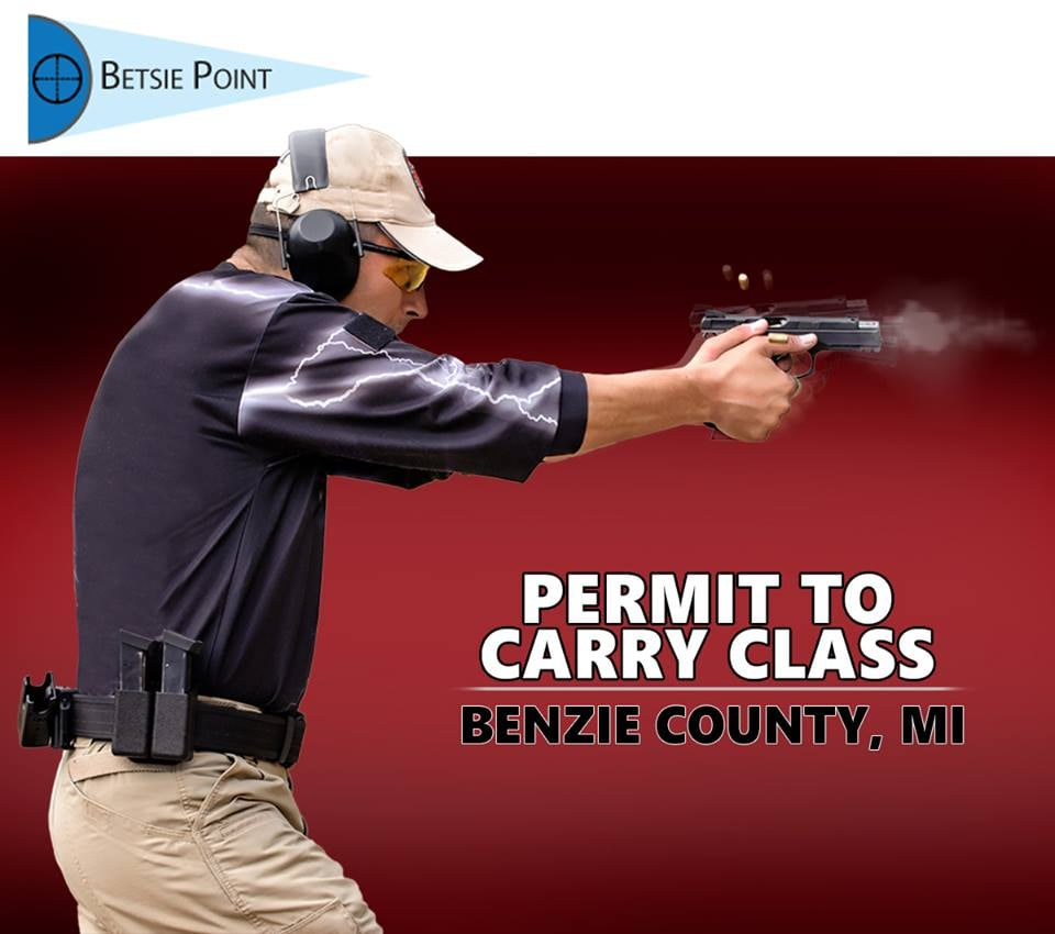 Betsie Point Firearms Training: 7803 Crystal Dr, Beulah, MI