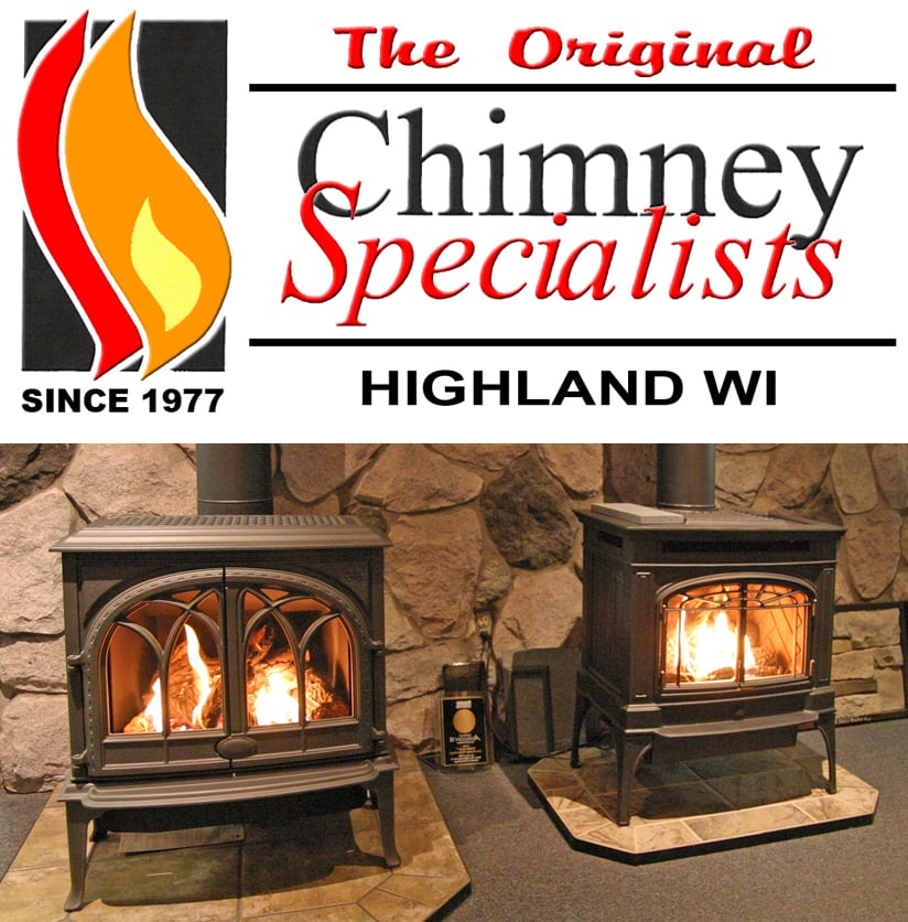 Chimney Specialists: 869 Main St, Highland, WI
