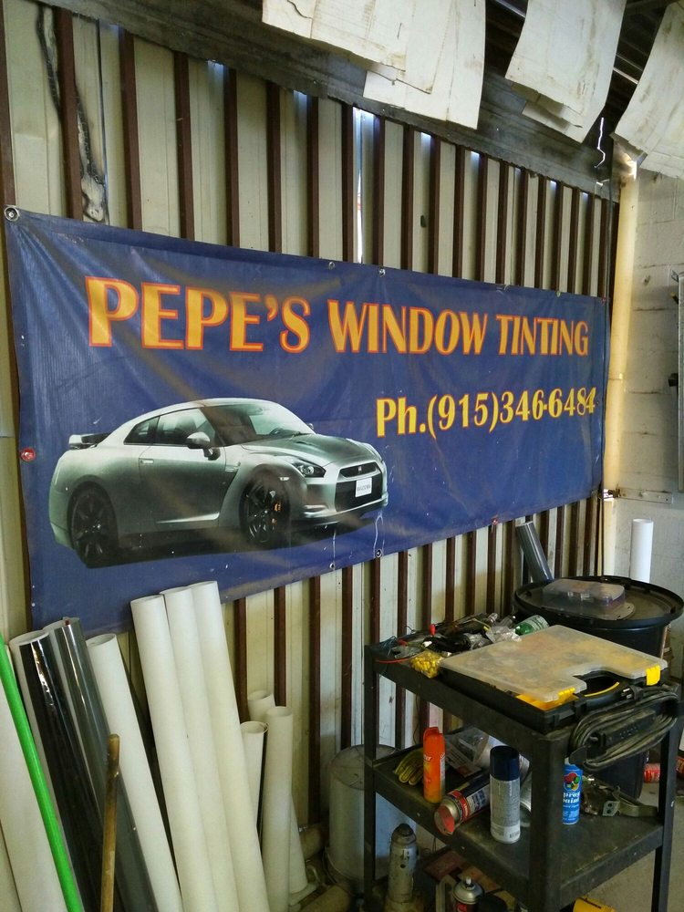 Pepe's Window Tinting: 688 B Horizon Blvd, Socorro, TX