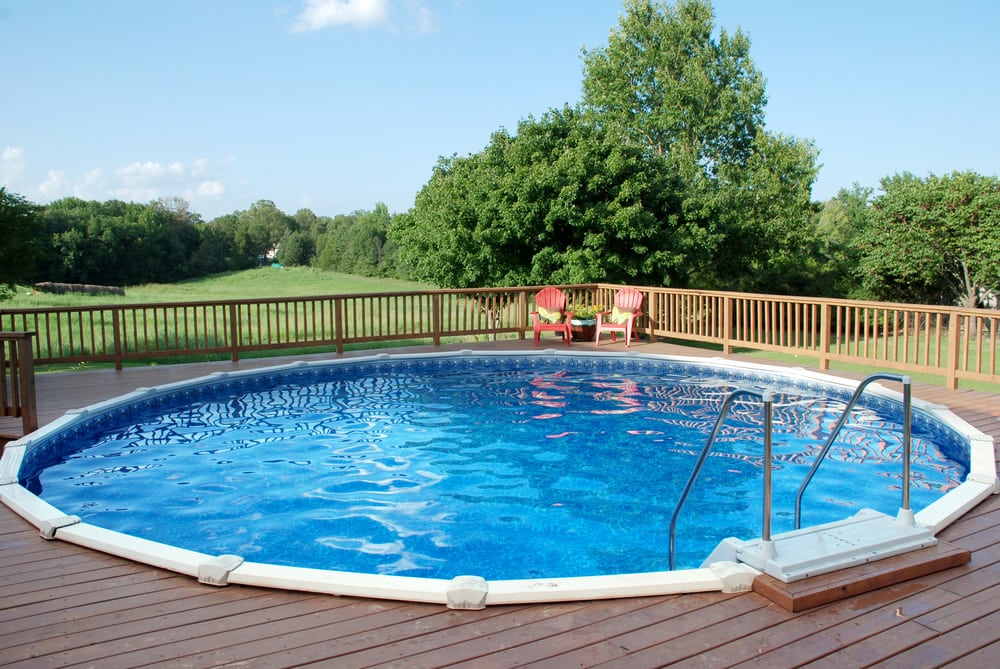 Your Doughboy Pool Can Be Buried At Ground Level Or Surrounded By A Deck It Can Even Have A