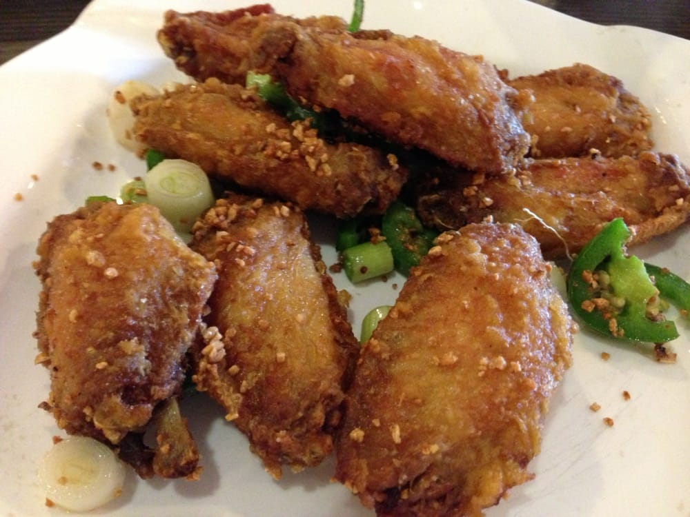how to make chinese deep fried chicken wings