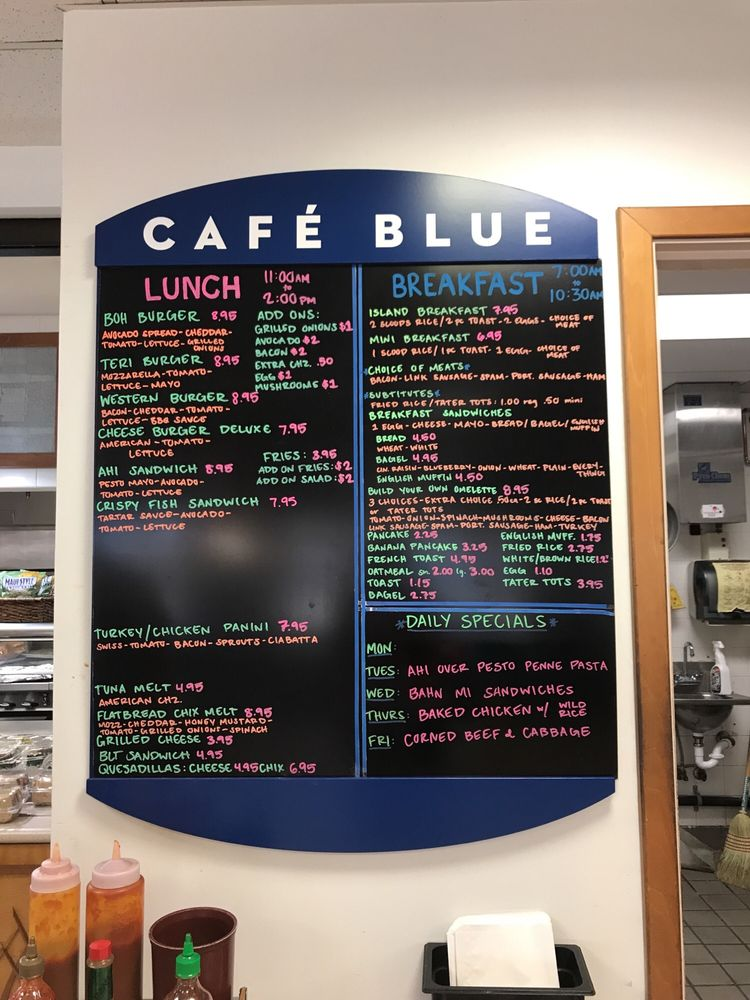 Cafe Blue Kapolei