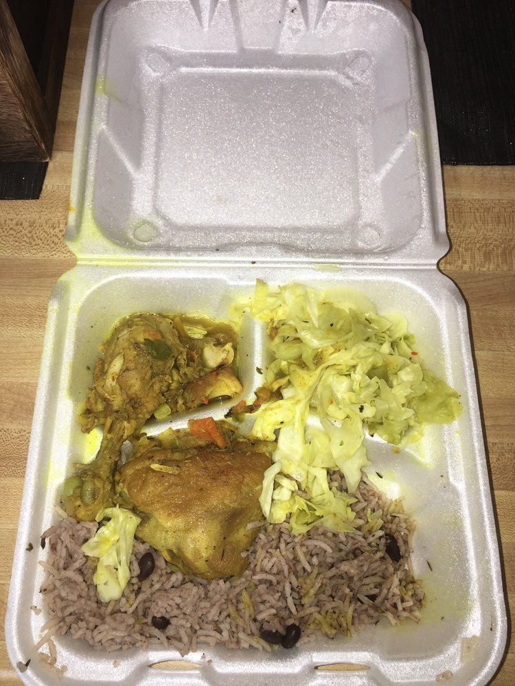 Food from Pepper & Spice Jamaican Restaurant