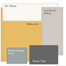 color combination for walls, trim, ceiling, and furniture ...