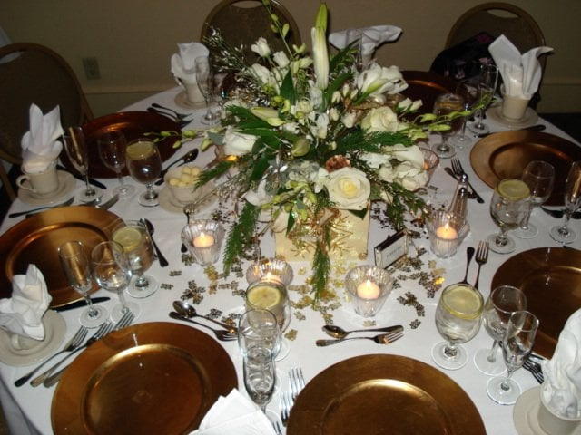 Photo Of Beautiful Things   Salem, MA, United States. 50th Anniversary  Party Centerpieces