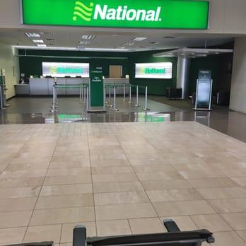 National Car Rental Return Sky Harbor Airport