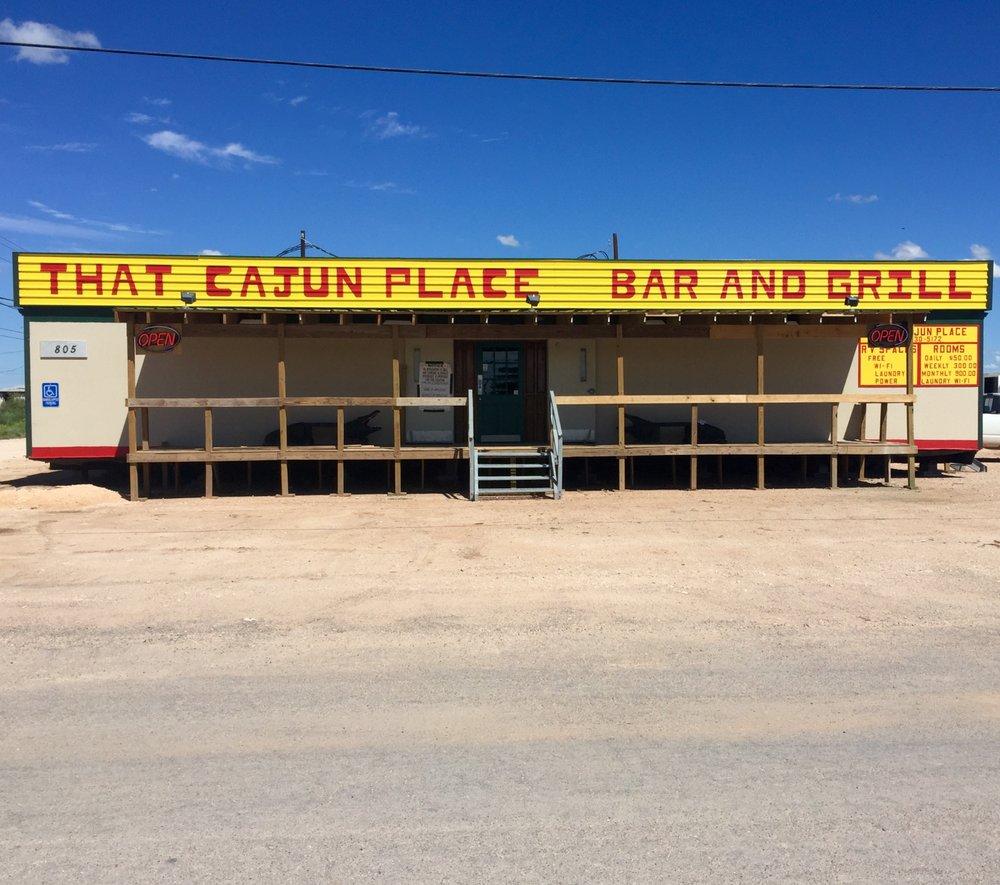 That Cajun Place: 805 N Wildcat Dr, Wink, TX