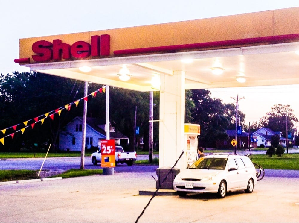 Shell Gas Station: 315 E State St, Hamel, IL