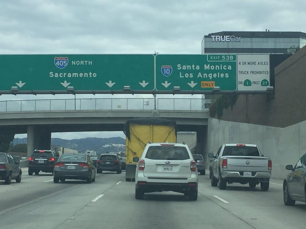 405/10 freeway intersection - Yelp