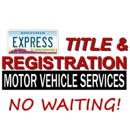 Express Title Registration Motor Vehicle Services Registrierungsdienste 3287 E Mcdowell Rd