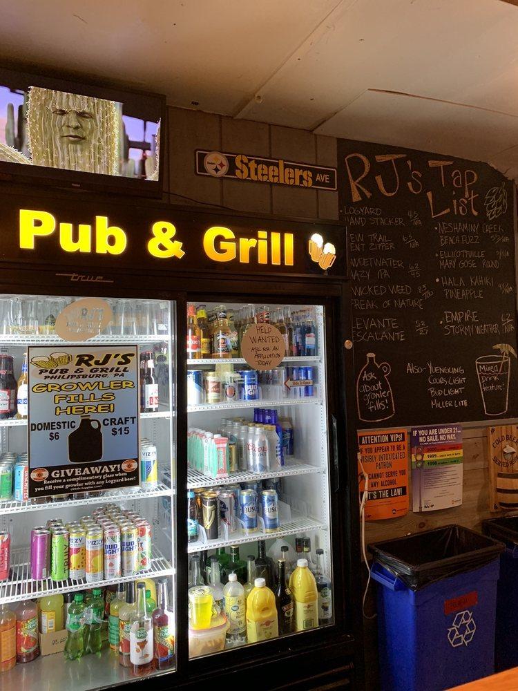 RJ's Pub & Grill: 615 N 9th St, Philipsburg, PA