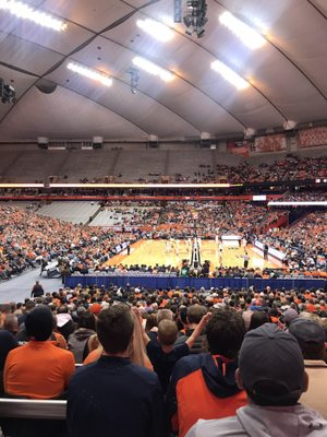 Carrier Dome 900 Irving Ave Syracuse Ny Stadiums Arenas Athletic