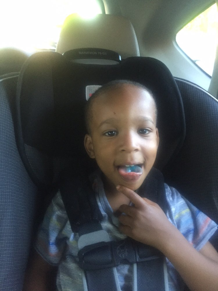 Proud Of His Cut And Blue Lollipop Yelp