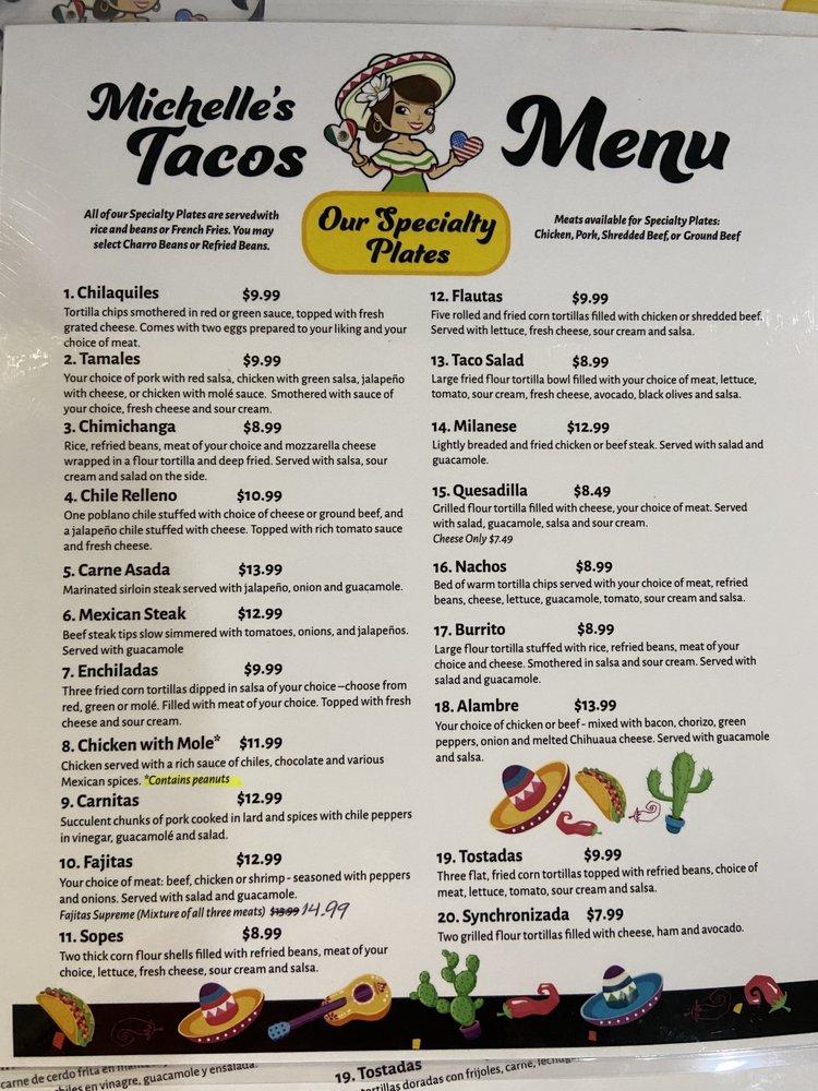 Michelle's Tacos: 2050 W Main St, Rapid City, SD
