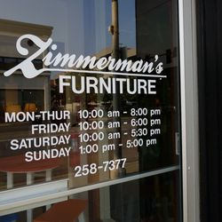 Photo Of Zimmermanu0027s Furniture   Bismarck, ND, United States. Hours Of  Operation