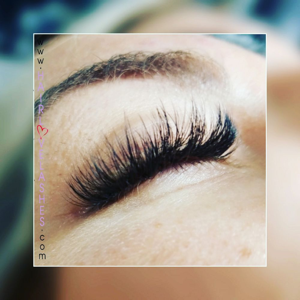 Volume Hybrid Eyelash Extensions Yelp
