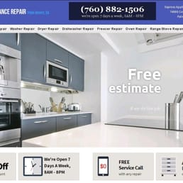 Express Appliance Repair Of Palm Desert Richiedi