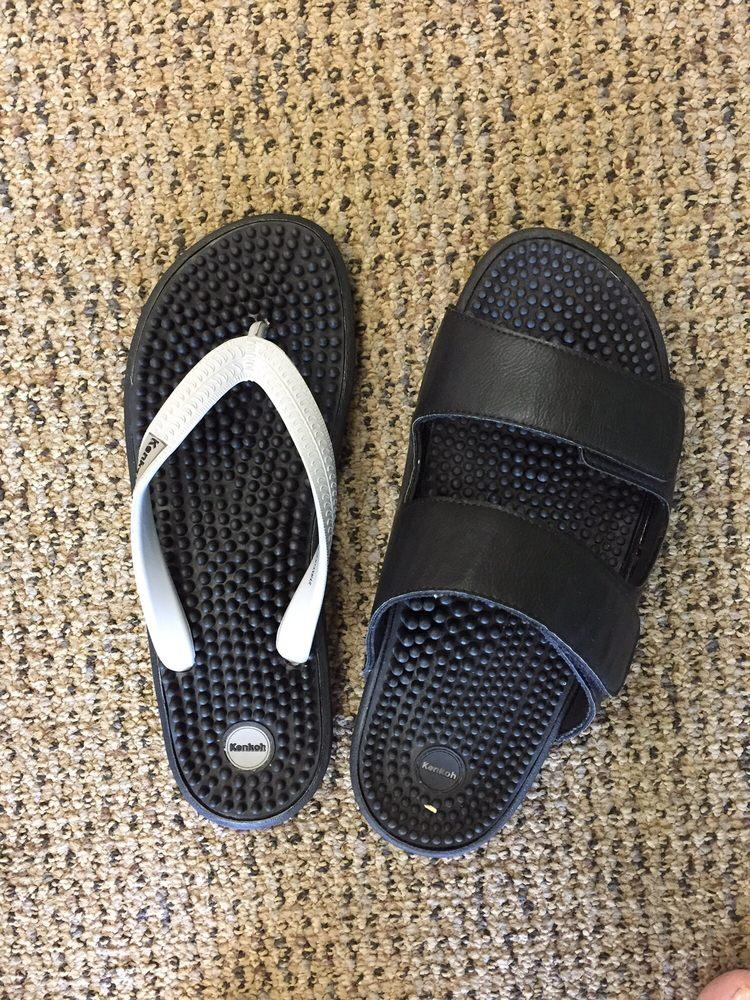 0f782c057 Kenkoh Japanese Massage Sandals  Left (flips) -  70  Right  109 - Yelp
