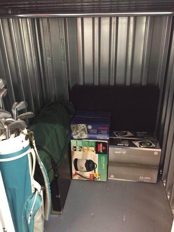 Photo of Manhattan Mini Storage - New York NY United States. 4x4x5 Unit & 4x4x5 Unit with a lot of space - Yelp