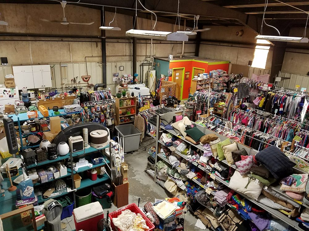 Green Pastures Center Thrift Store: 7 W 6th St, Marbleton, WY