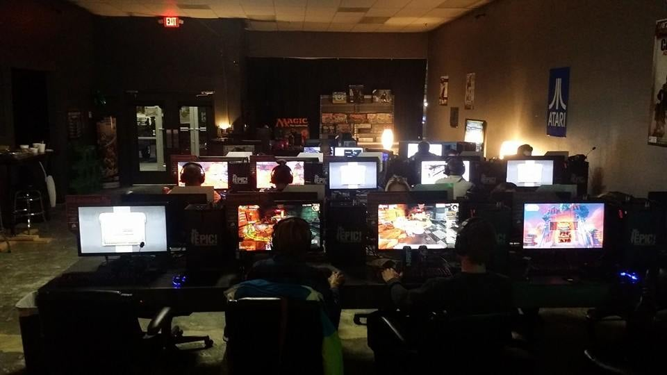 gaming cafes near me