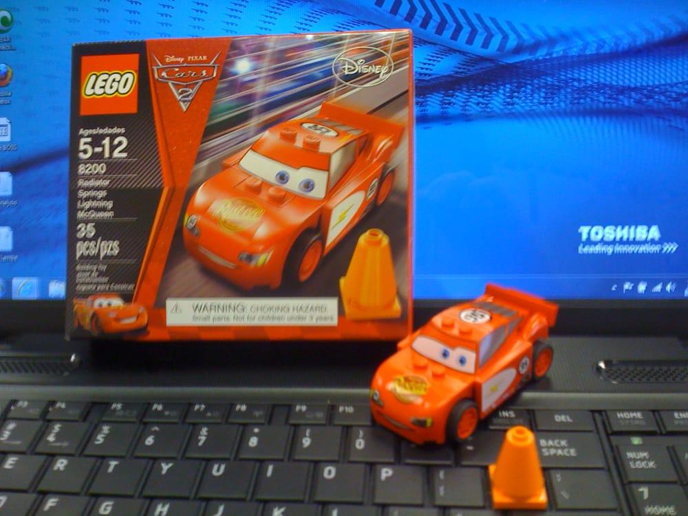 Lego Radiator lego - disney/ pixar cars 2: radiator springs lightning mcqueen