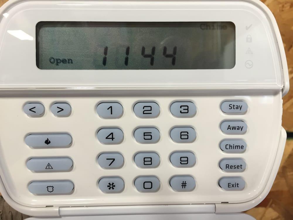DSC Alarm Panel Open - Yelp