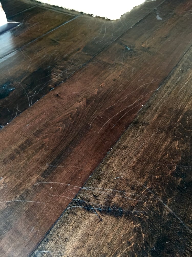 Our Engineered Hardwood Floors Purchased At Rayo In