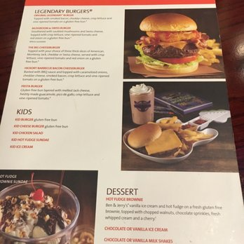 Hard Rock Cafe Menu Atlanta Prices