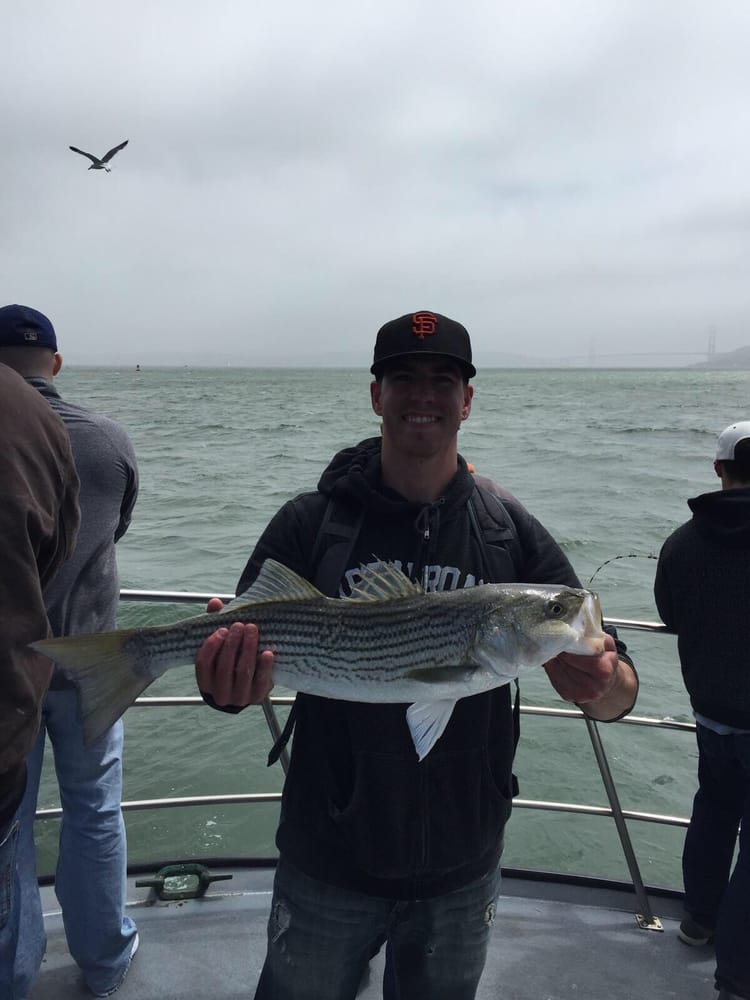 9 lbs yelp for Emeryville fishing report