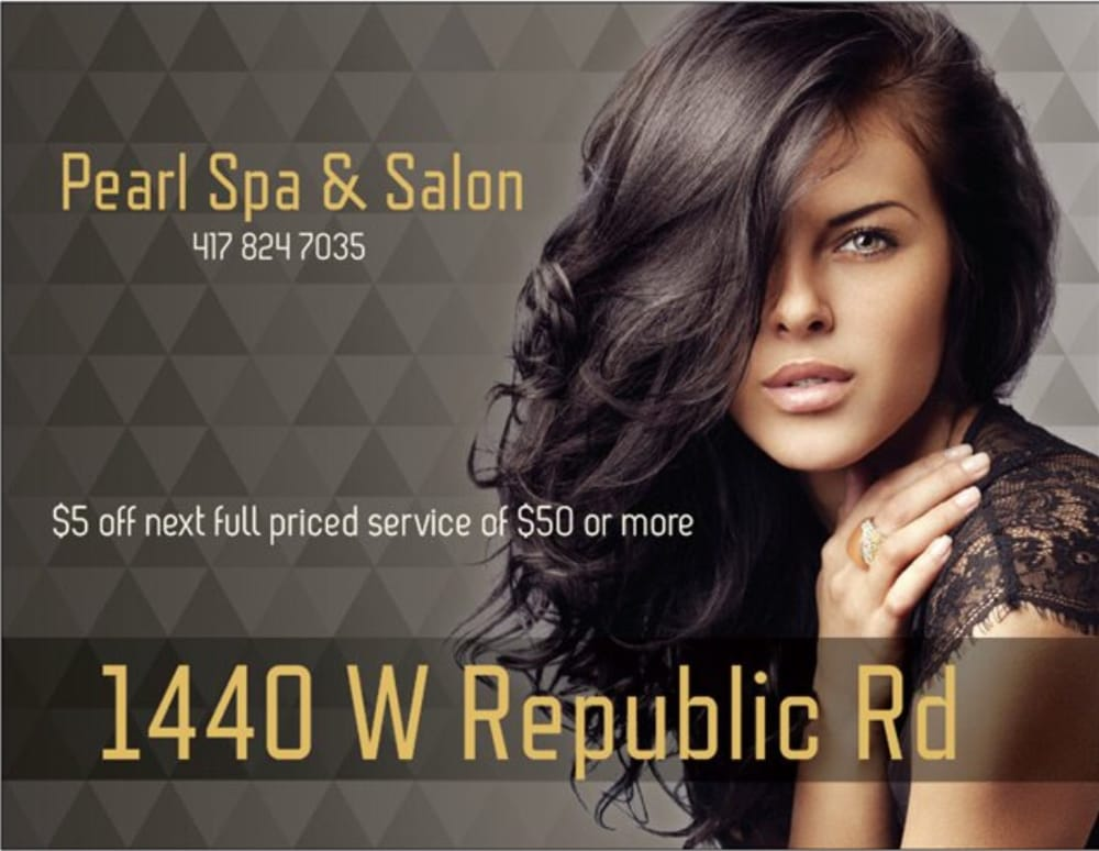 Pearl spa salon hair salons 1440 w republic rd for A b salon republic