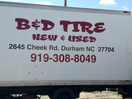 B And D Tire 2645 Cheek Rd Durham Nc Tire Dealers Mapquest