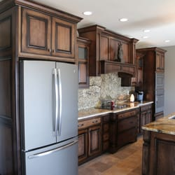 Merveilleux Photo Of Forever Cabinets By Kendrick   Edgewood, IA, United States.  Hickory Cabinets