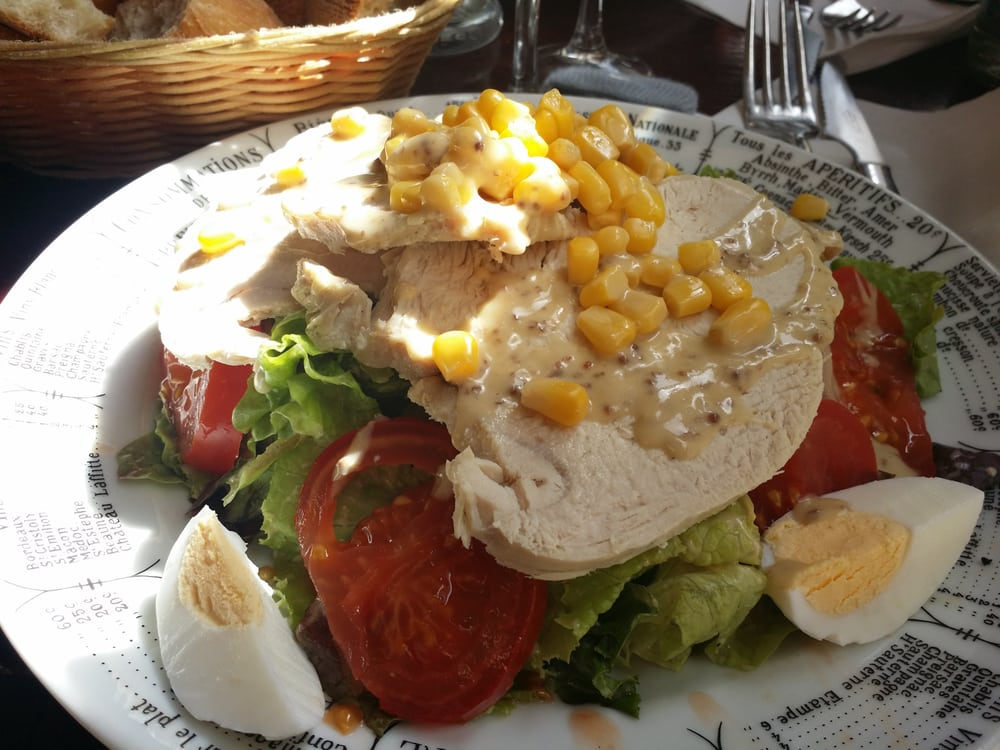 Chicken salad with mustard sauce - Yelp