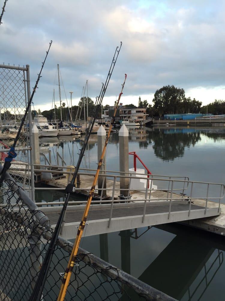 Dock 52 yelp for Marina del rey fishing report