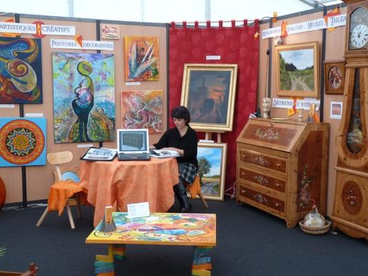 Peintures Décoratives De Maryan - Arts & Crafts - Rue Palice