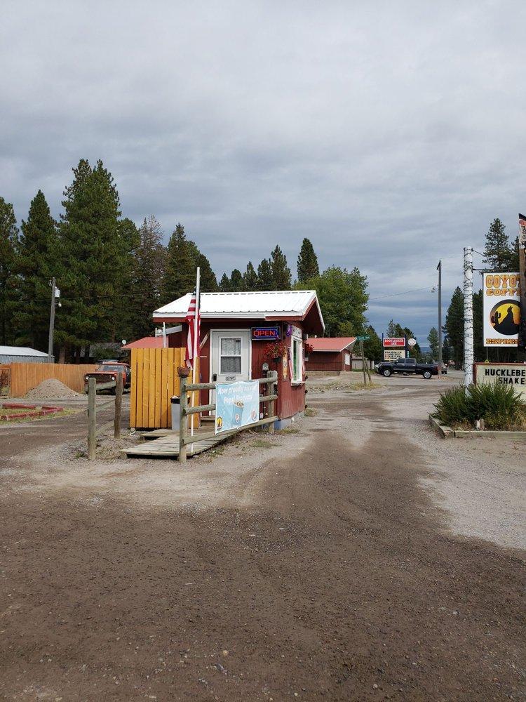 Coyote Coffee: 503 Main St, Lincoln, MT